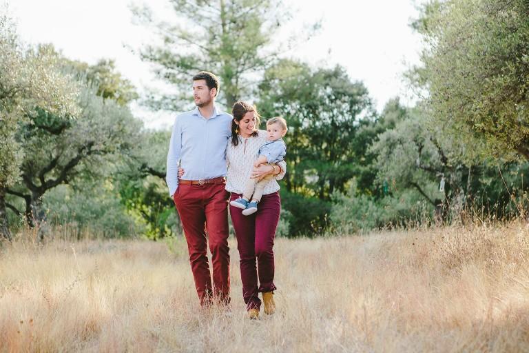 Séance photo en famille à Anduze dans le Gard