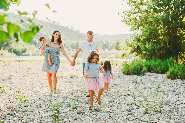 Portraits de famille dans le Gard