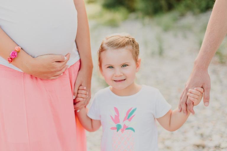 Séance maternité en famille