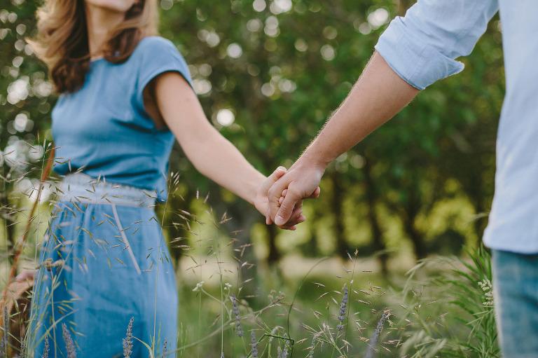 Couple d'amoureux photographié par Aline Nogueira